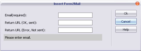 ASP Form to Mail insertion