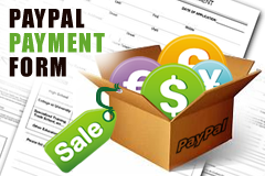 paypal form