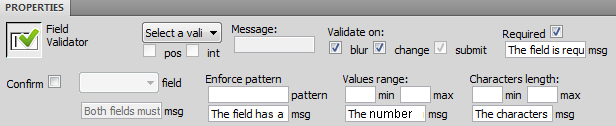 modifying validation rules